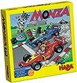 HABA 4416 Monza - Juego de mesa con dados y vehículos de HABA