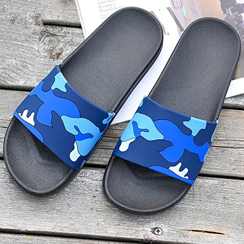 XIAOLIN Baño de verano antideslizante zapatillas de baño Inicio Hogar interior y exterior versión coreana de la  -