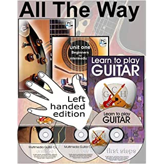 GCH Guitar Academy Left Handed Guitar Course: All the Way Guitar, Left Handed Version - Absolute Beginners to Intermediate Plus [DVD]