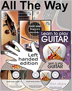 GCH Guitar Academy Left Handed Guitar Course: All the Way Guitar, Left Handed Version - Absolute Beginners to Intermediate Plus [DVD] (0955085691) | Amazon price tracker / tracking, Amazon price history charts, Amazon price watches, Amazon price drop alerts