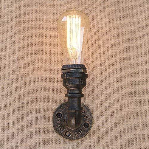 Alte Bronze Pendelleuchte Lampe (W-LI Alte Bronzeleinzelne Lichtinnenpfeifen-Wand, die Industrie Wand E27 220-240V Kitch Beleuchtetde Vorrichtung)