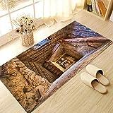 JY ART X Fliesen-Aufkleber Dekorative Küchen-Fliesen überkleben - Dekorative Bad-Gestaltung Tile Style Decals Bodenaufkleber DB006, 01