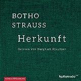 Herkunft: 3 CDs - Botho Strauß