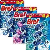 Bref WC Frisch Reiniger Stein - Antikalk Antischmutz Extra Frische Kloreiniger Tabs, Sparpack ToilettenReiniger, 3x3x50gr