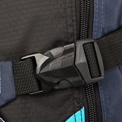 FZHLY Travel Bag Coreana Moda Tracolla Da Uomo Libero,TreasureBlue Gray