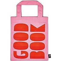 moses. libri_x Büchertasche Good Book   Tragetasche aus 100% Baumwolle   für Buchliebhaber Sporttasche, 24 cm, Rosa