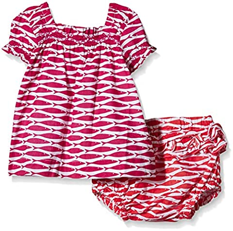 Hatley Baby Girls 0-24m Infant Ruffle Bloomer Little Fishes Clothing