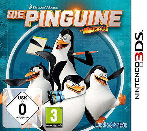 Namco Bandai Games Die Pinguine aus Madagascar 3DS Basic Nintendo 3DS videogioco