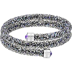 Idea Regalo - Swarovski Braccialetto da Donna Cristallo 52924, Base Metal, Colore: Multicolore, cod. 5292441
