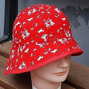 Sommerhut, Sonnenhut Mädchen rot