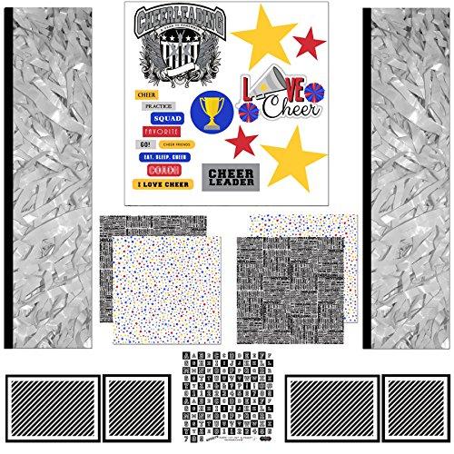 Scrapbook Customs Scrapbook-Set, Cheerleading Sport Papier