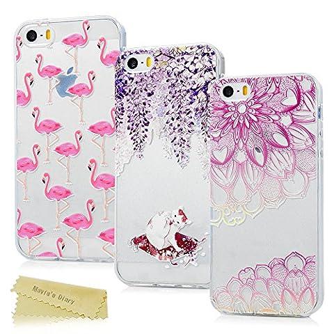 [3-Pack] Mavis's Diary iPhone SE Case ,iPhone 5S Case ,iPhone