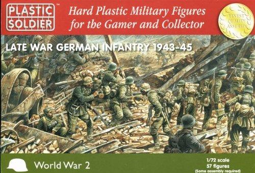 Plastic soldier company late war german infantry 1943-45 - 1:72 model kit