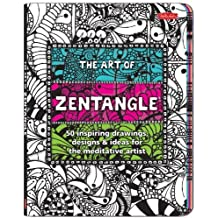 The Art of Zentangle: 50 inspiring drawings, designs & ideas for the meditative artist by Bremner, Margaret, Burnell, Norma J., Raile, Penny, Williams (2013) Paperback