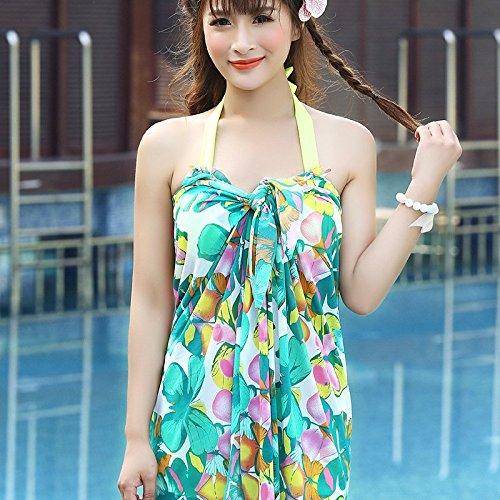 buy popular 06ba7 17331 HBJ Seaside Thermalbad dreiteilige floral print Badeanzug ...