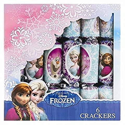 FROZEN CHRISTMAS CRACKERS - Frozen themed Christmas Crackers - Elsa, Anna, Olaf