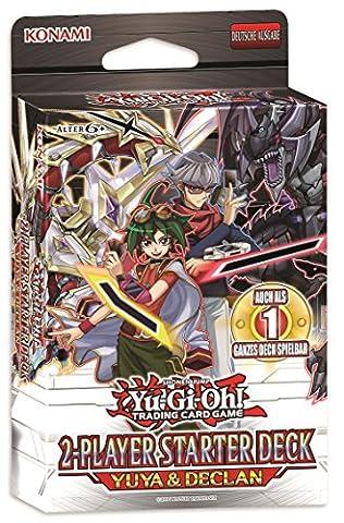 Konami 44322 - Sammelkartenspiel - YGO Starter Yuya und Declan