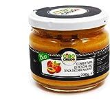 CiboCrudo Composta di Pesche Biologica, Organic, Senza Zuccheri Aggiunti – 230gr – Confettura di Pesche Bio, Prodotto in Ital