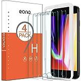 Amazon Brand - Eono Protector Pantalla para iPhone 8 Plus/iPhone 7 Plus, Cristal Templado iPhone 7/8 Plus, Sin Burbujas, Anti