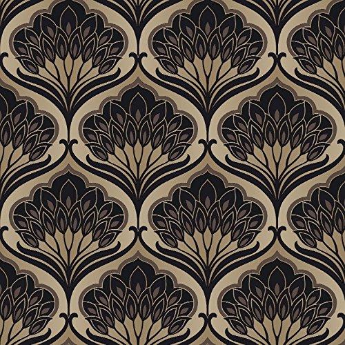 Preisvergleich Produktbild Arthouse,  Arthouse Pavonis-Makronen Tapete,  gold