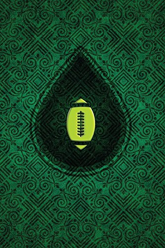 Monogram Football, American Journal: Blank Notebook Diary Memoir Log Logue: Volume 56 (Monogram Chartreuse 365 Lined) por N.D. Author Services