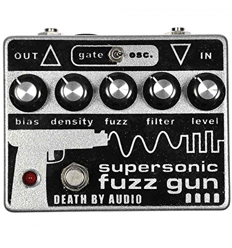 Death by Audio Supersonic Fuzz Gun–Fuzz Guitarra
