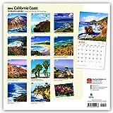 California Coast - Kalifornische Küste 2018 - 18-Monatskalender mit freier TravelDays-App: Original BrownTrout-Kalender [Mehrsprachig] [Kalender] (Wall-Kalender) - BrownTrout Publisher