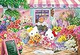 Hello Kitty | Puzzle | 108 Pcs Flower Shop M108-100 ( Japanese Import ) (japan import)