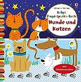 Babys Fingerspuren-Buch: Hunde und Katzen: ab 6 Monaten