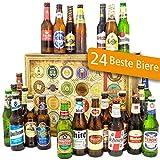 Geschenke für Männer | 24x Biersorten aus der Welt | Weihnachtsgeschenke Männer