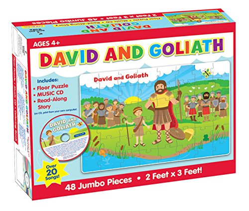 David and Goliath Floor Puzzle & CD (I'm Learning the Bible Floor Puzzle)