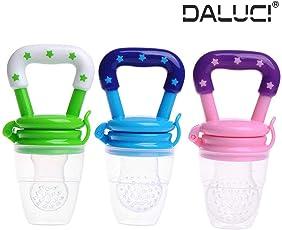 DALUCI Nipple Fresh Food Fruits Milk Nibbler Feeder Feeding Tool Safe Baby Supplies - (Multi - Color)
