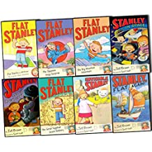 Flat Stanley Collection, 8 books, RRP £32.92 (Flat Stanley; Stanley, Flat Again; Invisible Stanley; Stanley in Space; Stanley and the Magic Lamp; The Japanese Ninja Surprise; The Big Mountain Adventure; The Great Egyptian Grave Robbery) (Flat Stanley)