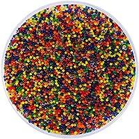 Calistouk 10000pcs Mágicas bolas de colores de perlas de suelo planta agua pistola de cristal suave juguetes regalo
