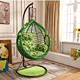 SQINAA Hanging egg hammock chair cushions without stand,Swing seat cushion thick nest hanging