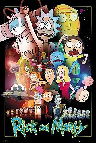 Póster Rick and Morty - Wars (61cm x 91,5cm)