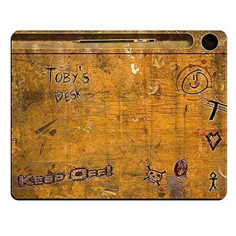 Toby's Desk - Vintage School Desk Personalised Premium Mouse Mat