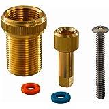Prolongador de llave de corte Flex para llaves de corte rectas y en U de los sistemas Q&E, S-Press y RTM, color dorado (refer