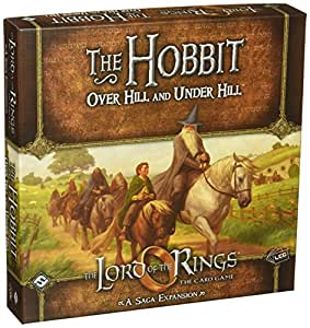 Fantasy Flight Games Lord of the Rings the Card Game Expansion the Hobbit Over Hill and Under Hill