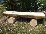 Rustikale Holzbank aus Lärche