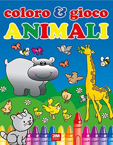 Animali. Coloro & gioco. Ediz. a colori