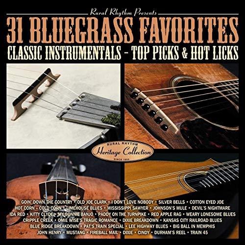 31 Bluegrass Favorites - Top Picks & Hot Licks