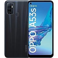 OPPO A53s Smartphone, 90 Hz 6,5 Zoll Display, 5000 mAh Akku + 18W Schnellladen, 13 MP Dreifachkamera, 128 GB Speicher…
