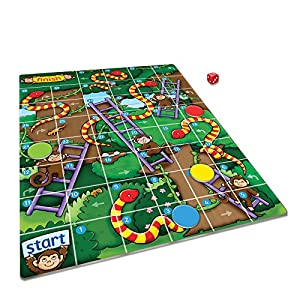 Orchard Toys Jungle Snakes and Ladders Mini / Travel Game