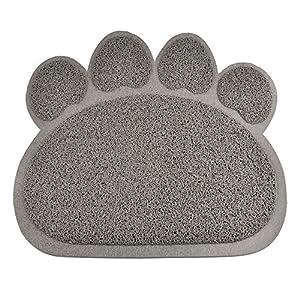 Tapis de litière Catcher, Pyrus Litière pour chat Tapis en PVC pour animal domestique Boîte Tapis Tapis pour nourrir Kitty Dog