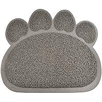 Alfombrilla para recoger arena de gato PYRUS de PVC, alfombrillas para caja de mascotas, alfombrilla de alimentación para perros gatitos