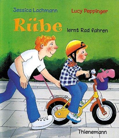 Rübe lernt Rad fahren