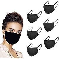 Unisexe Noir Poussière Coton Lavable Résistant Reutilizable