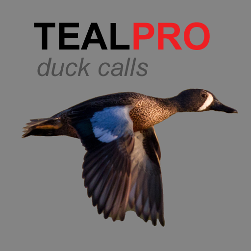 REAL Duck Calls for Teal Ducks App - For Duck Calling & Duck Hunting - (ad free) BLUETOOTH COMPATIBLE -