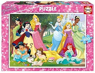 Educa Borrás- Puzzle 500 Princesas Disney (17723) por Educa Borrás
